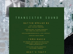 Transistor sound / Natten börjar nu + Träd + Radio + What´s That?